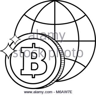 322x320 Drawing Bitcoin Web Icon Stock Vector Art Amp Illustration, Vector