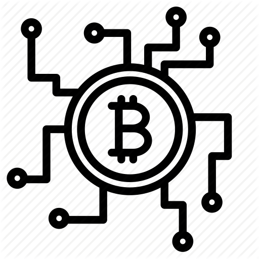 512x512 Bitcoin, Blockchain, Crypto, Cryptocurrency, Currency, Mining Icon