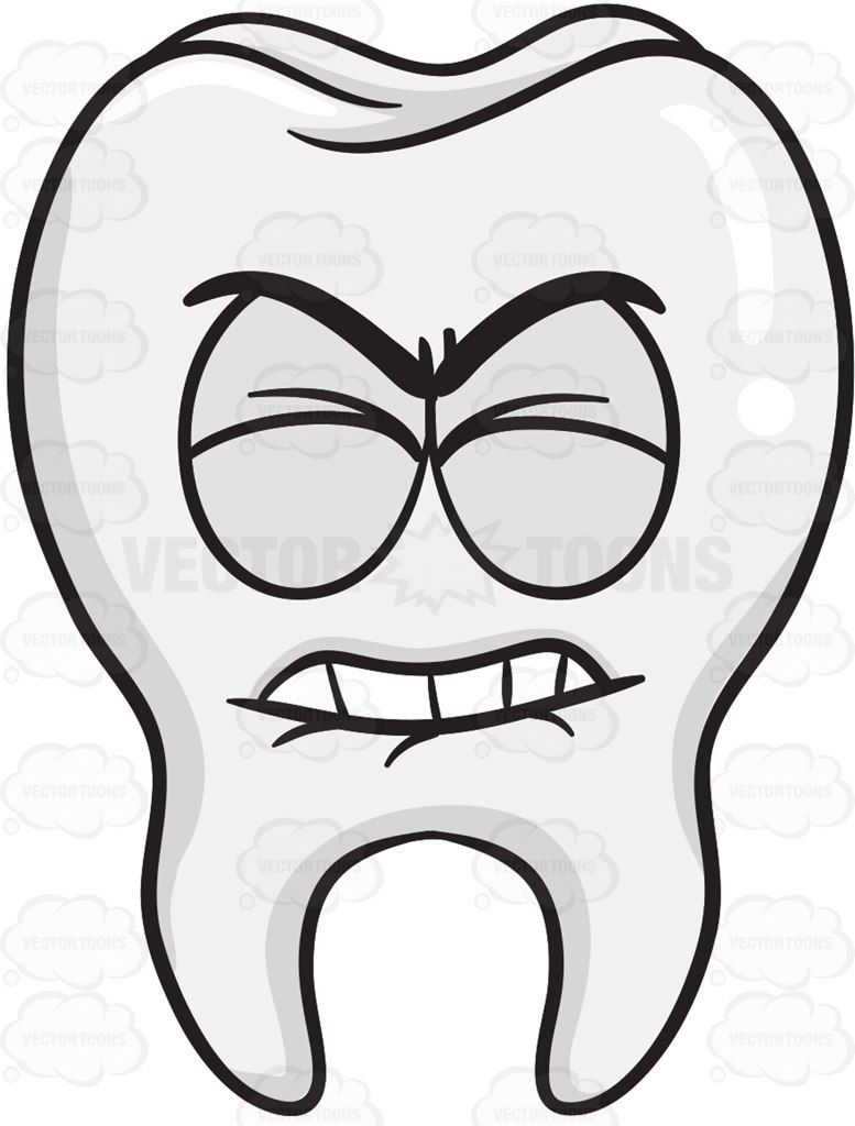 777x1024 Frustrated Looking Tooth