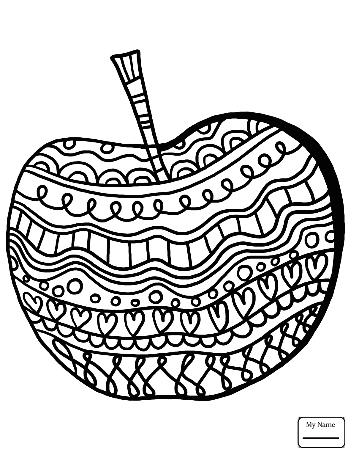 1182x1530 Coloring Pages For Kids Apple Juice Apples Fruits