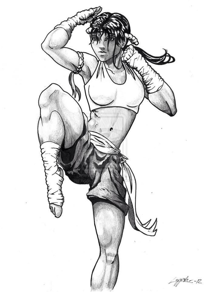 682x960 I Need A Sanshou Version! Muay Thai Muay Thai