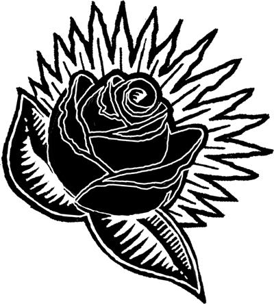 400x444 What Does A Black Rose Mean