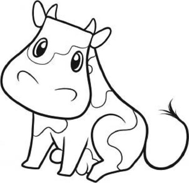 620x600 How To Draw Farm Animals