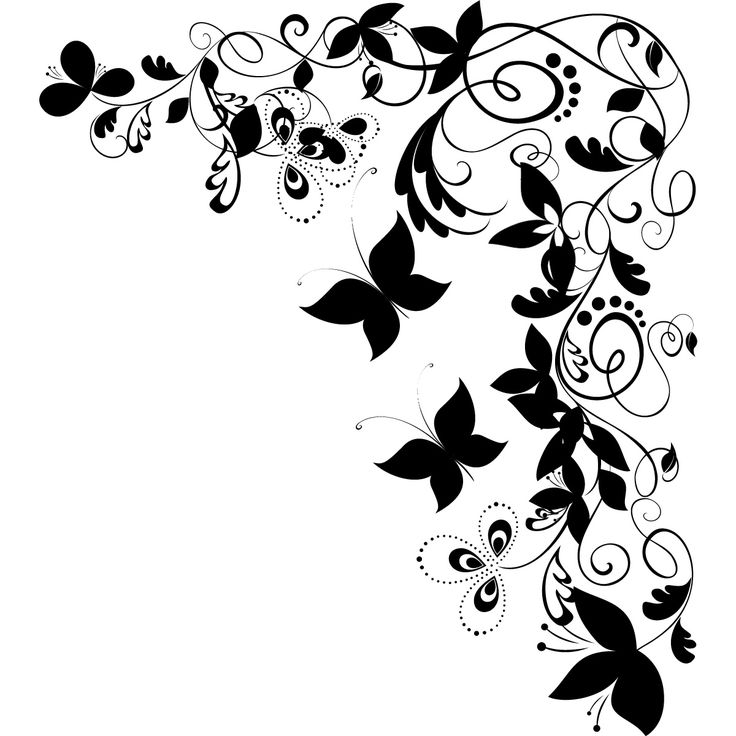 black and white butterfly drawing at getdrawings com clip art bookmarks clip art bookmarks
