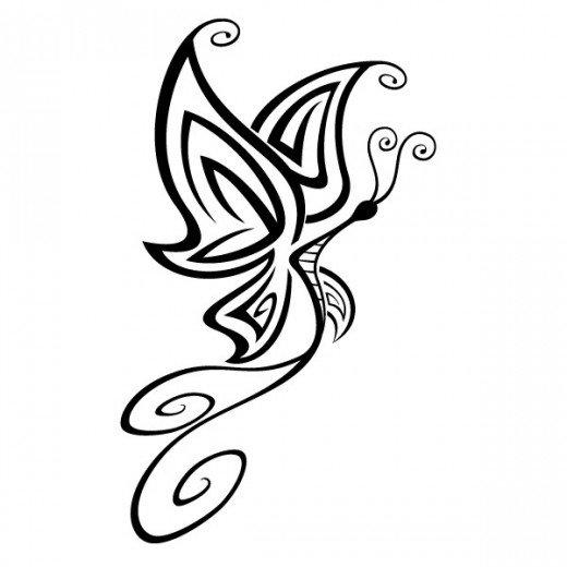 520x520 Butterfly Clip Art 170 Best Free Clip Art Amp Drawings