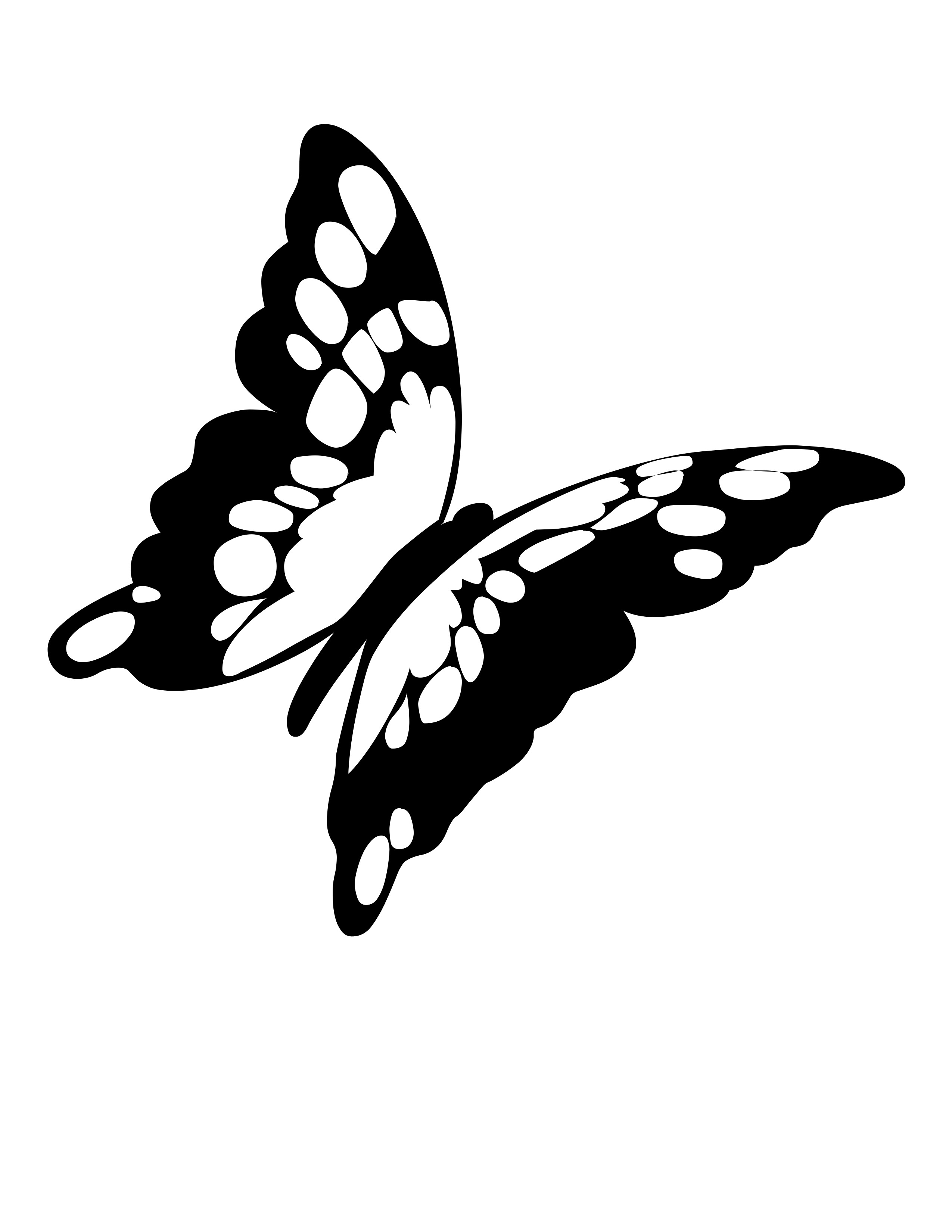 2550x3300 Best Photos Of Flying Butterfly Outline