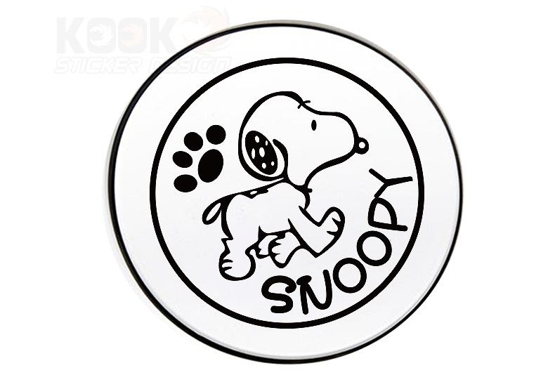 790x534 2018 Personalized Sticker Funny Dog Pet Snoopy Black White Red
