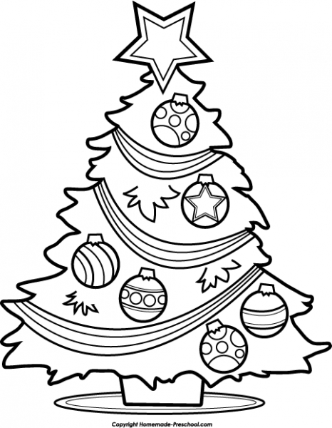 black and white christmas tree drawing at getdrawings com free for rh getdrawings com christmas tree ornaments clipart black and white christmas tree decorations clipart black and white