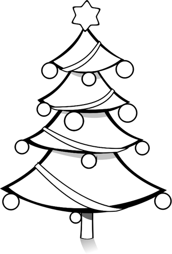 black and white christmas tree drawing at getdrawings com free for rh getdrawings com christmas tree with presents clipart black and white christmas tree black and white clipart free