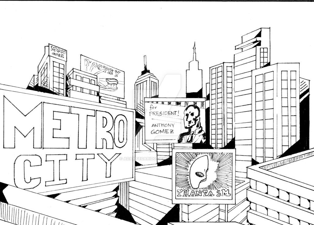 1024x734 Metro City By Adamfegarido