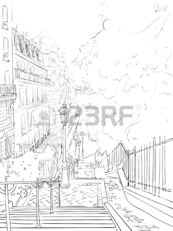 336x450 Vector Image Hand Drawn Black And White Drawing