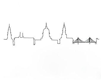 340x270 Charleston Skyline Etsy