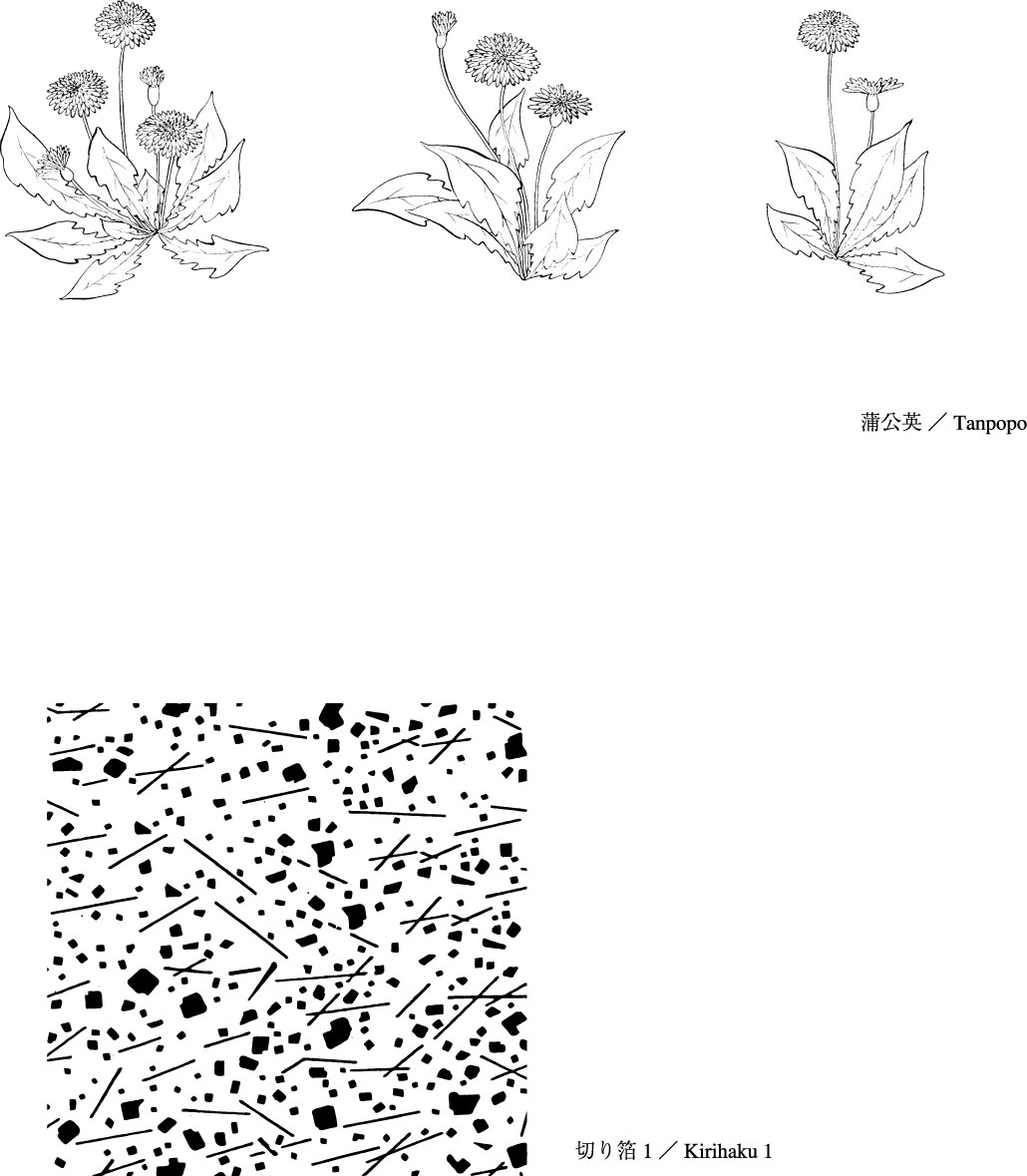 1030x1179 Vector Line Drawing Of Flowers 50(Dandelion, Lily) Free Vector