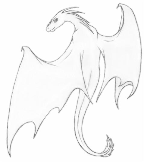 478x540 Drawings Of Dragons In Pencil Dragons Drawings Black And White