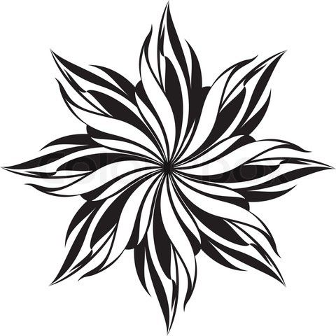 Black and white drawing designs at getdrawings free for 480x480 photos simple flower designs black and white mightylinksfo