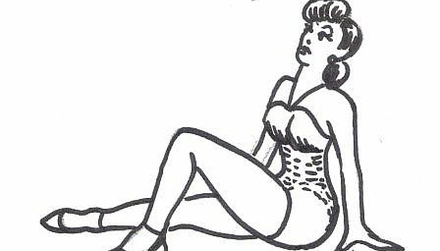 877x500 How To Draw A Pinup Girl Our Pastimes