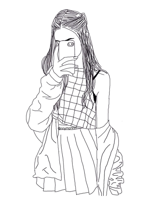 500x667 Drawn By Me Credit Original Pic = Weheartit On We Heart It