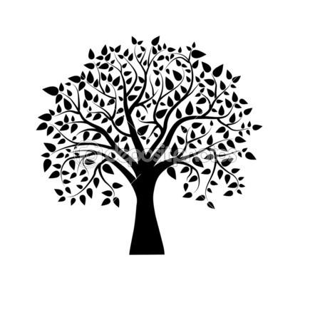 449x435 Tree Drawings