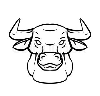 320x308 How To Draw A Bull Head Step By Step Easy For Beginners Rock Draw