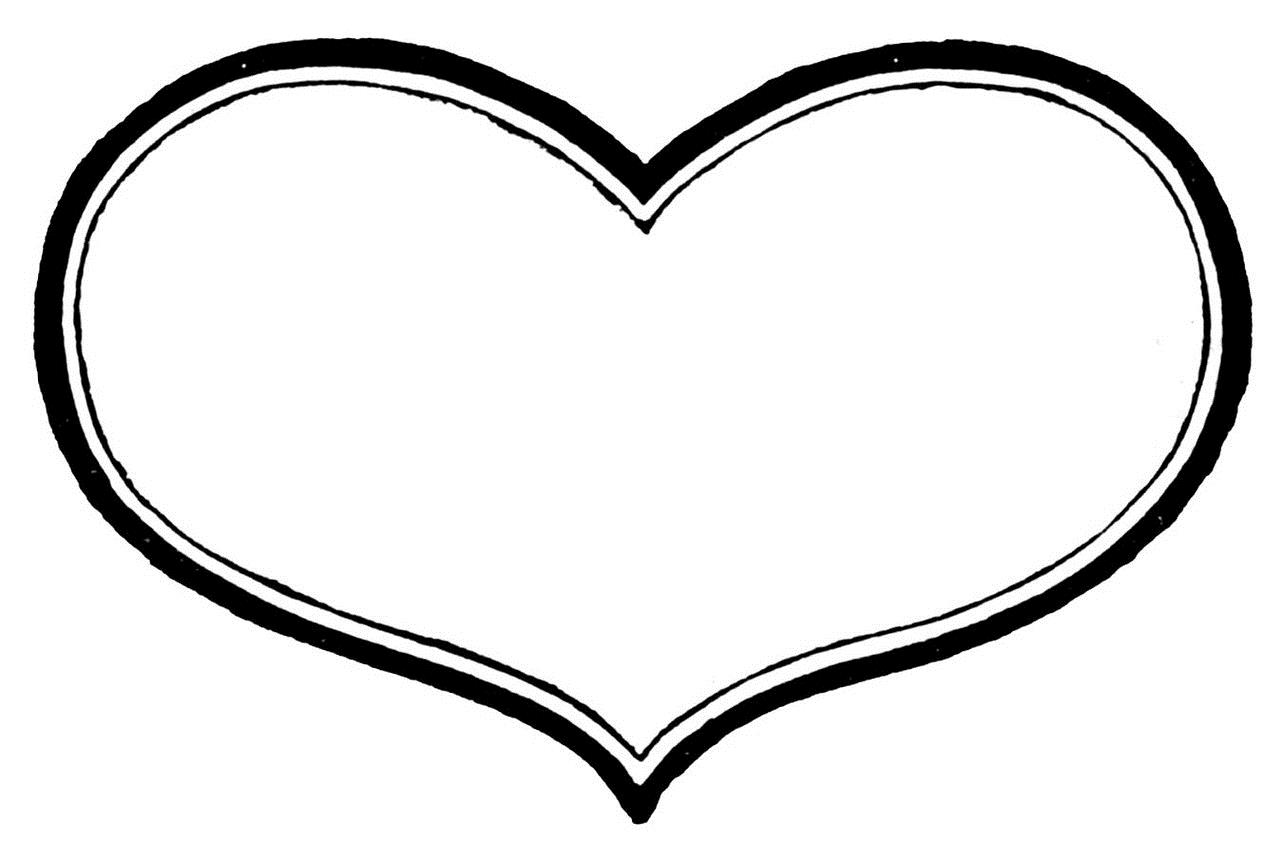 black and white heart drawing at getdrawings com free for personal rh getdrawings com love heart black and white clipart heartbeat clipart black and white