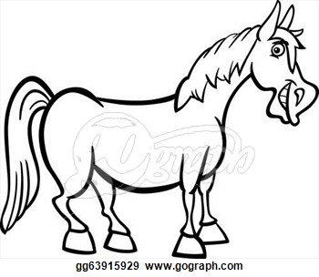 black and white horse drawing at getdrawings com free for personal rh getdrawings com black and white horse head clip art horseshoe clipart black and white