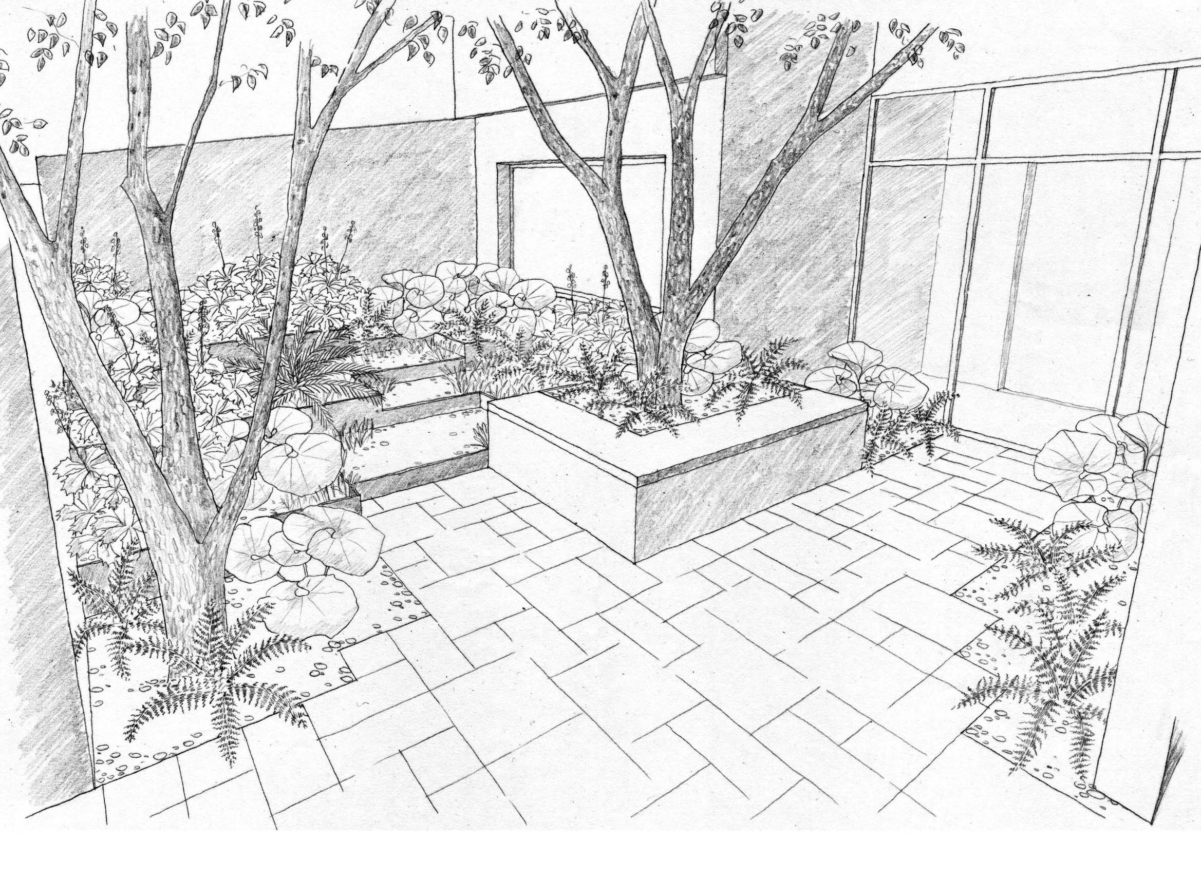 2338x1712 Landscape Drawings Pencil Art Lt3 Landscape