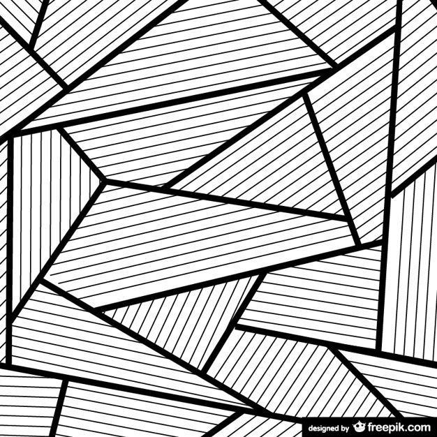 Black And White Line Drawing