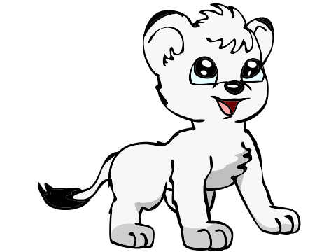480x360 Kimba The White Lion By Sketch Shepherd