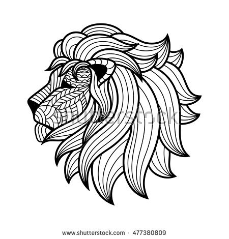 450x470 Pictures Lion Sketch,