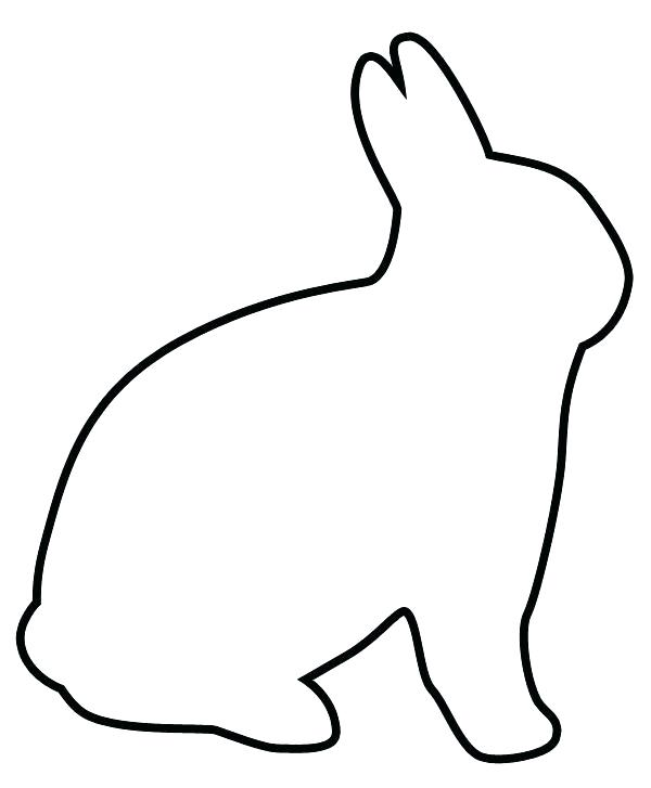 Black And White Rabbit Drawing at GetDrawings.com | Free for ...