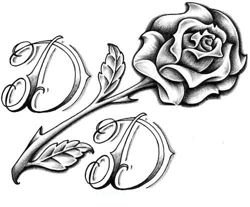 500x414 10 White Rose Tattoo Samples And Design Ideas