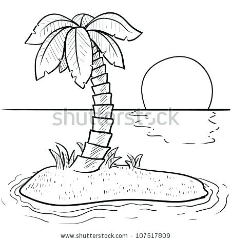 450x470 Sunset Clipart Pin Sunset Desert Island 3 Clipart Sunset Palm Tree