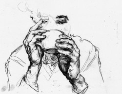 250x194 Drawing Art Black And White Coffee Sketch Doodle Cigarette