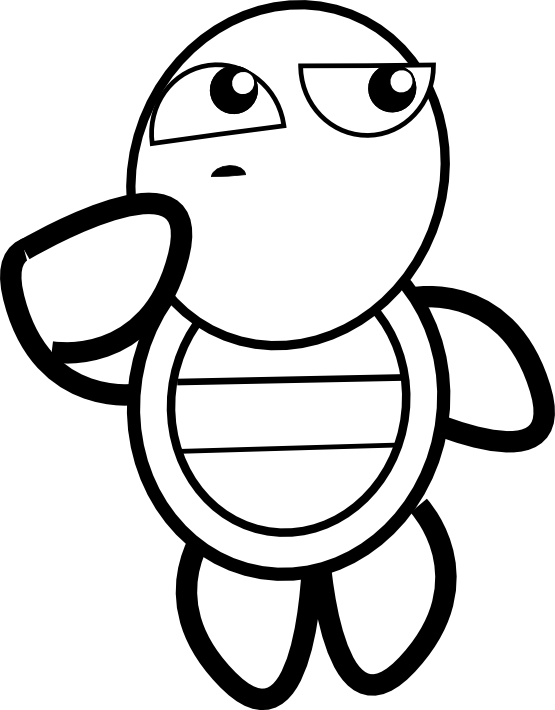 black and white turtle drawing at getdrawings com free for rh getdrawings com sea turtle clipart black and white ninja turtle clipart black and white