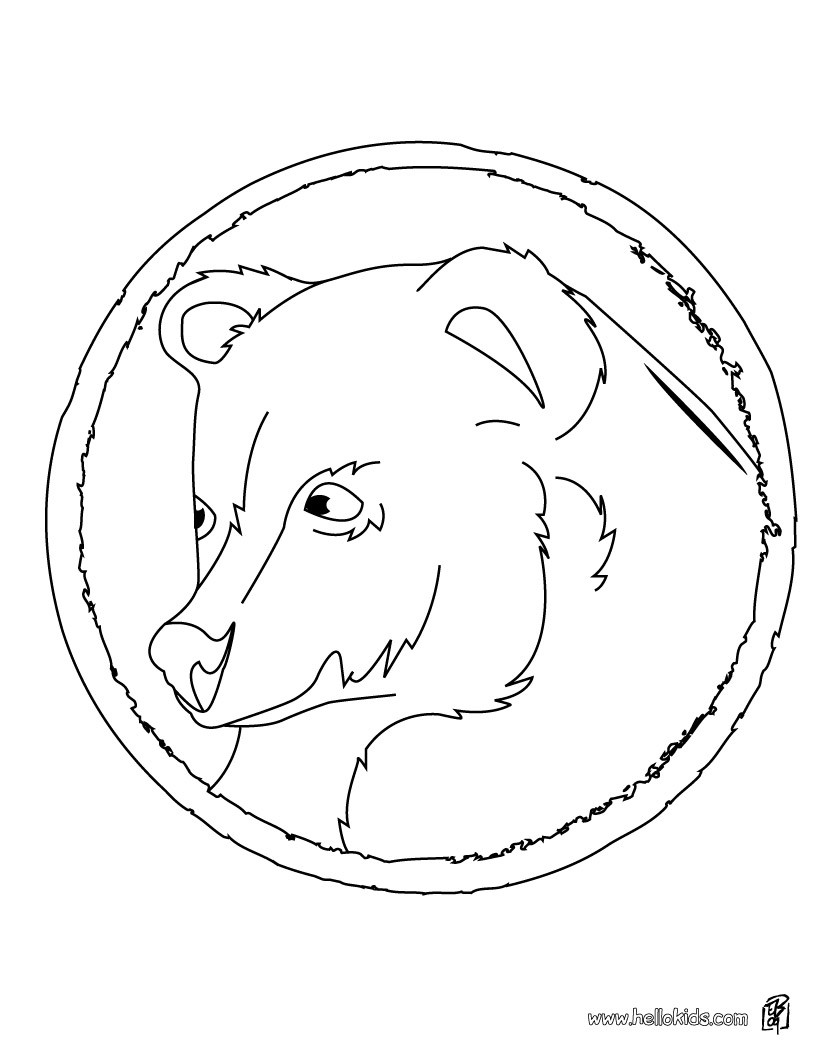 820x1060 Asian Black Bear Coloring Pages