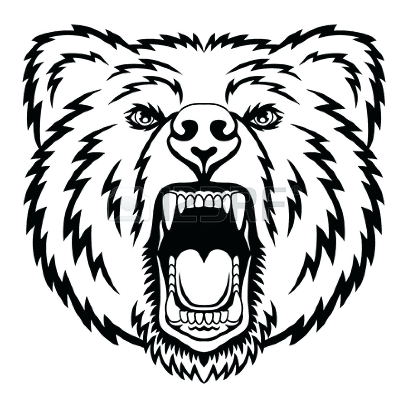 Black Bear Drawing Outline at GetDrawings.com   Free for personal ...