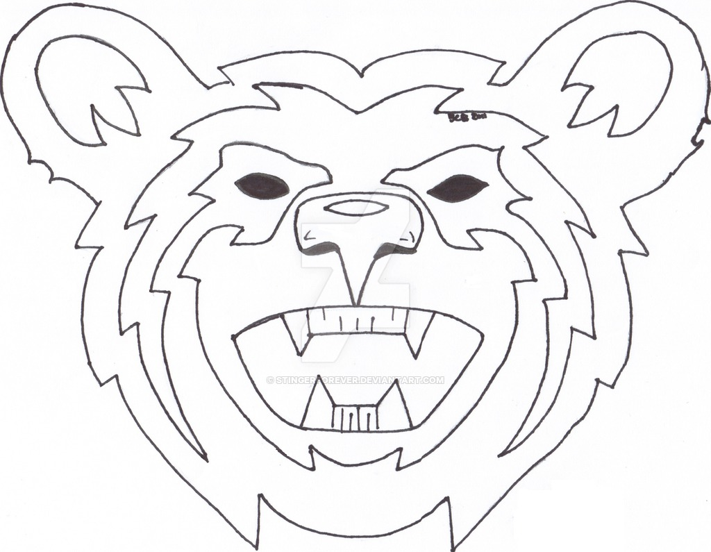1024x795 2011 New Bear Head Design By Stingerforever