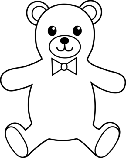 black bear line drawing at getdrawings com free for personal use rh getdrawings com polar bear clipart black and white free bear clipart black and white