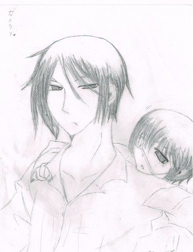 384x500 Black Butler Images My Crappy Sebastian And Ciel Drawing O U O