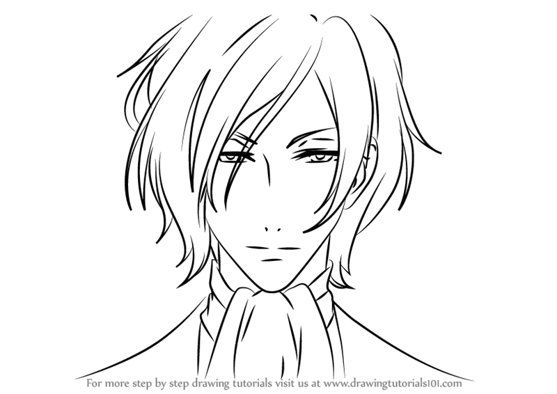 800x566 Learn How To Draw Ashe From Black Butler (Black Butler) Step By