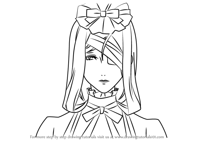 800x567 Learn How To Draw Hannah Annafellows From Black Butler (Black