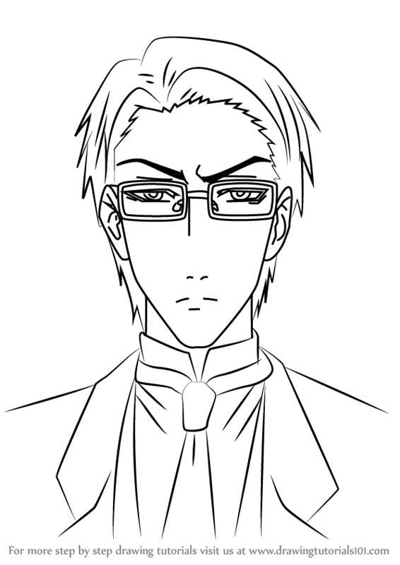 566x800 Learn How To Draw William T. Spears From Black Butler (Black