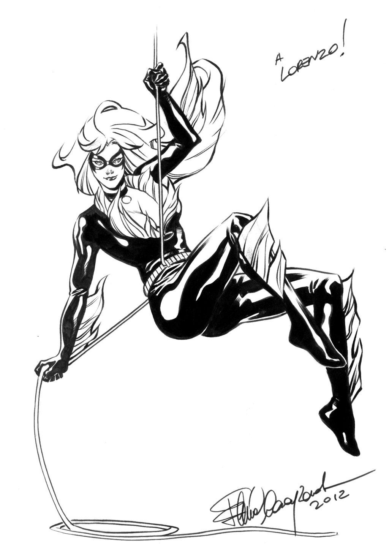 1024x1448 Black Cat Comicon Sketch