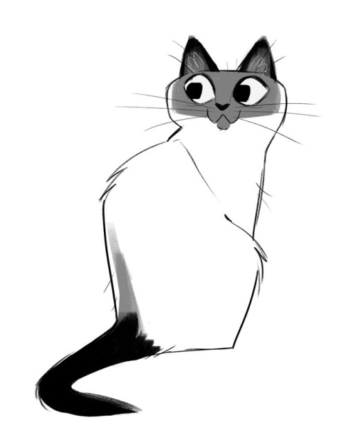 500x625 Daily Cat Drawings