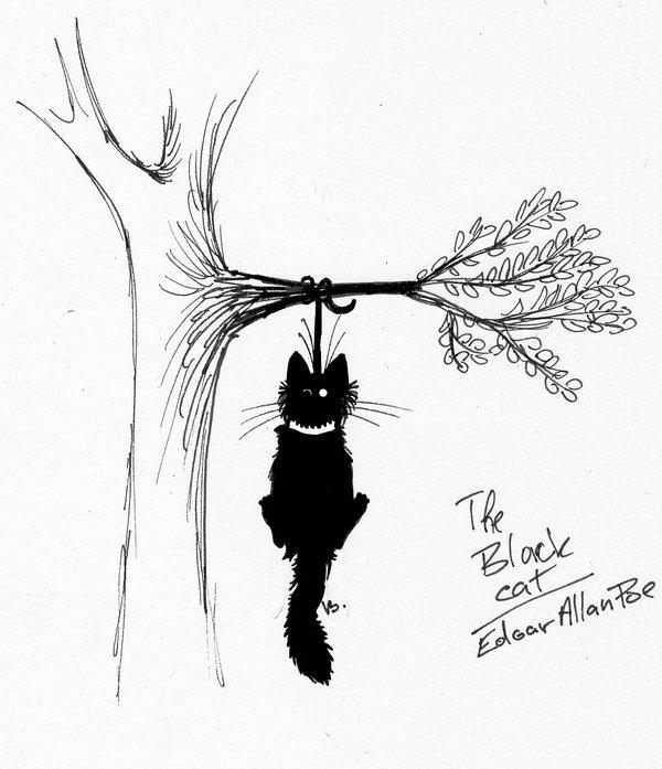 600x697 The Black Cat
