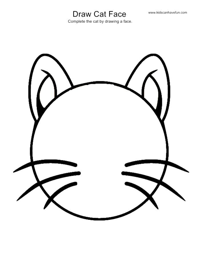 700x906 Black Cat Drawing Ideas For Kids