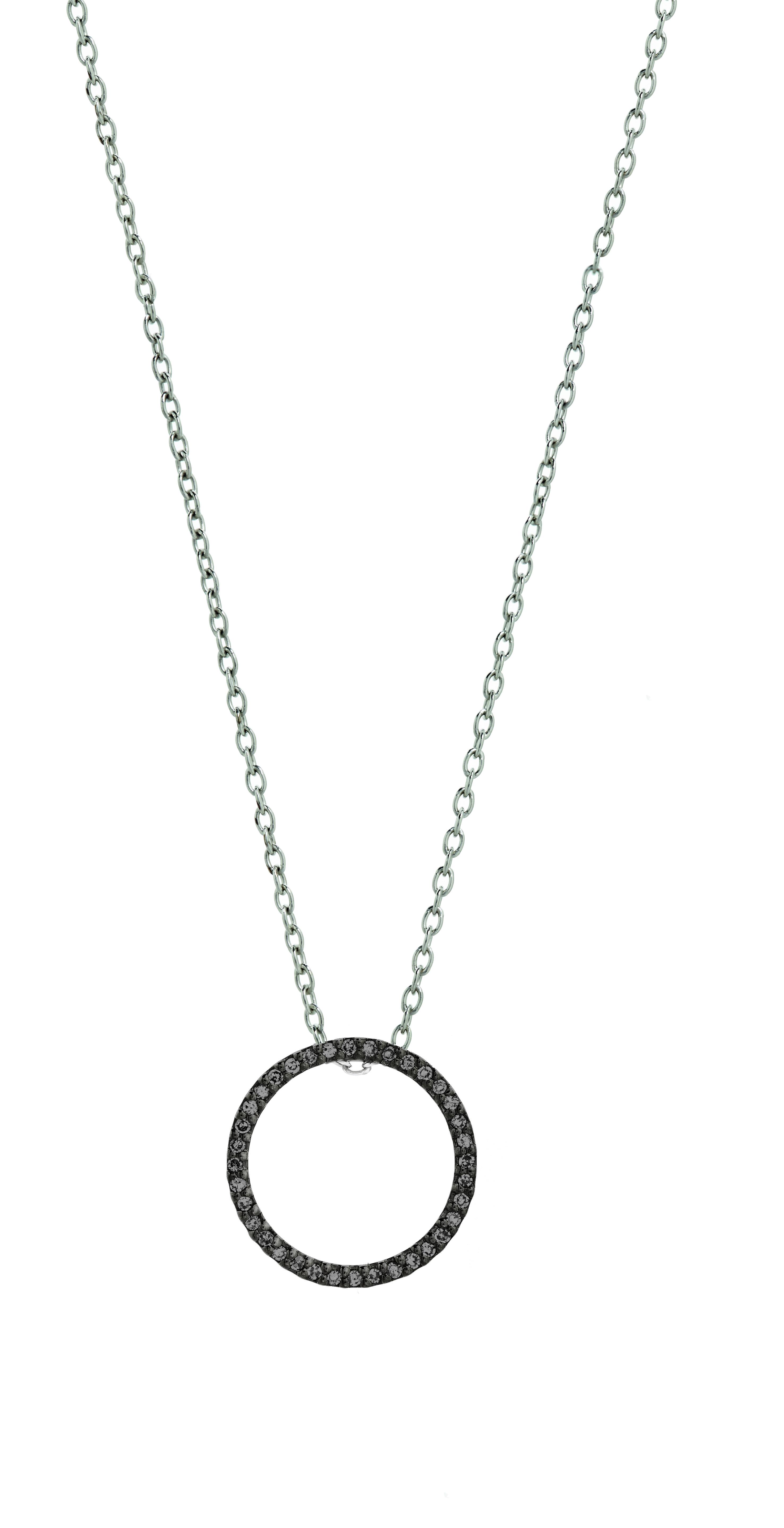 2953x5752 Diamond Jewellery Diamond Pendants 0.11ct Black Diamond