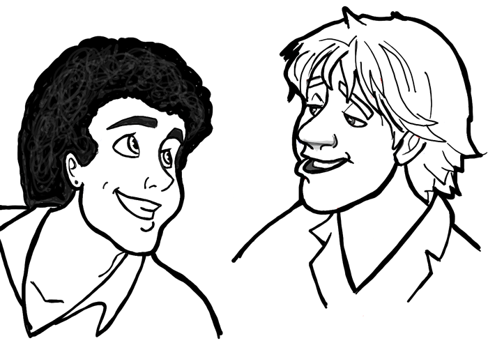 700x492 How To Draw Men And Males In Many Different Cartoon Styles (Air