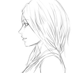 236x236 Manga Girl Hair Side View, Eyes Side View Anime And Manga