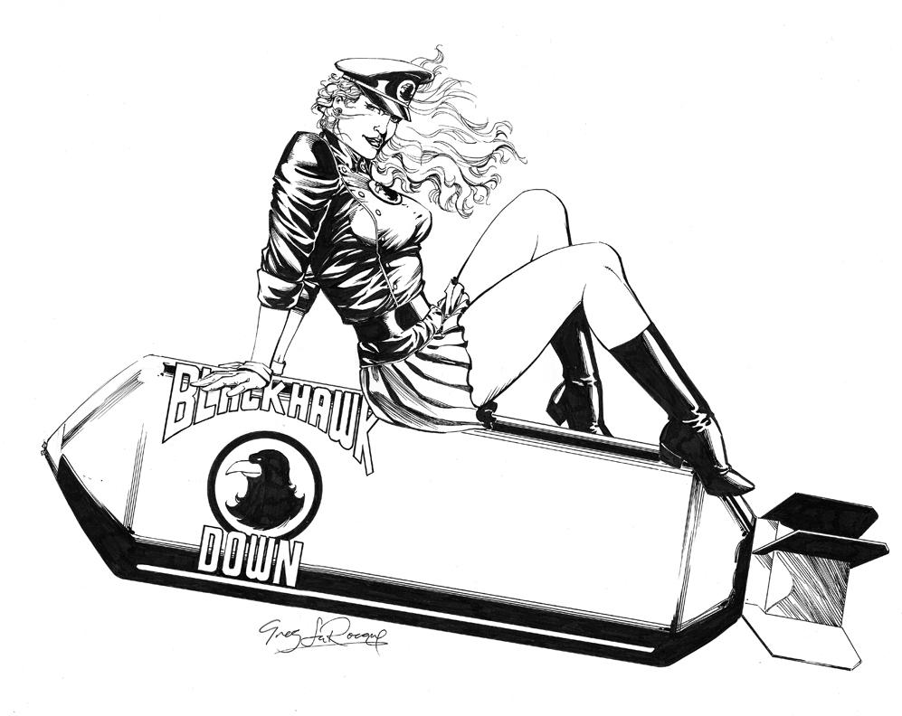 997x792 Bombshell! Lady Blackhawk Greg Larocque, In Michael Rankins'S
